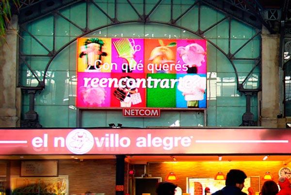 Medios Digitales - NETCOM URUGUAY Publicidad Exterior